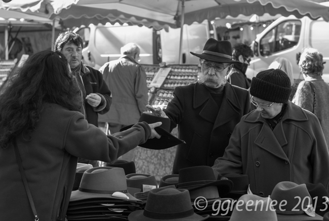 Apt market, Provence